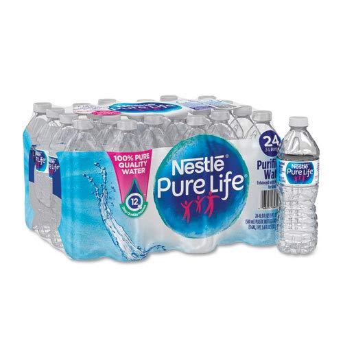 Purified Bottled Water, .5 Liter, 24/CT, Sold as 1 Carton