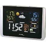 Technoline WS6442 moderne Wetterstation, gut ablesbares Display, sehr übersichtlich, silber,...