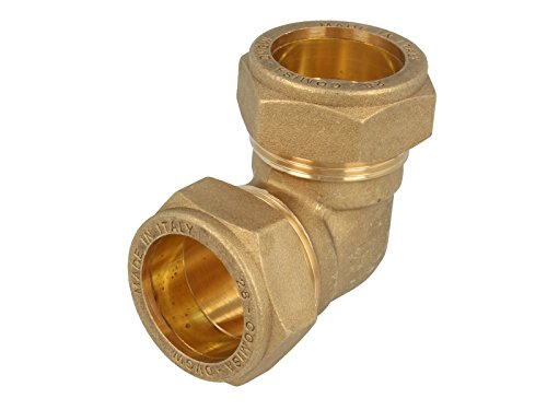 MS-Klemmringverbinder, Winkel 90° Verschraubung 15 x 15 mm