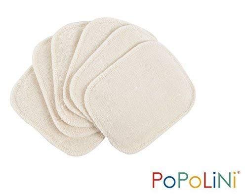 Waschbare Kosmetikpads Bio-Baumwolle naturfarben 6er-Set