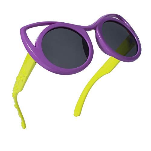 Price comparison product image SUNIER Polarized Kids Sunglasses For Boys Girls Child Rubber Frame Shades Age 3+ SR019