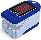 Oximetro de Dedo Oxímetro de Pulso Easy Health CMS50DL Pulsioxímetro Dedo Adultos Niños Monitor...