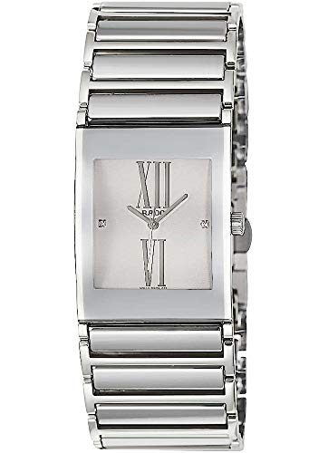 Rado Damen-Armbanduhr Integral Jubile mit Diamanten Analog Quarz R20745722