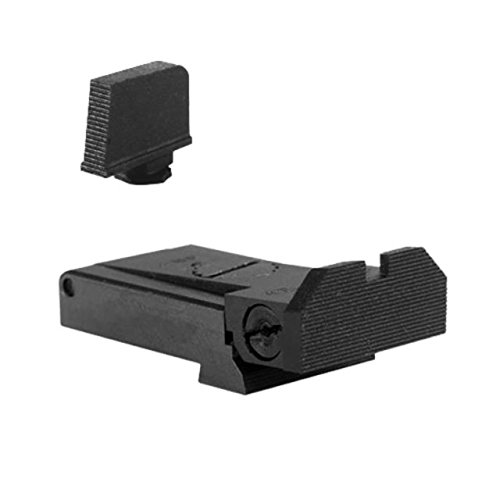 Best Buy! Kensight Adjustable Sight Set w/Beveled Blade for Glock 17,22,31,34,35,37 w/0.315in Front