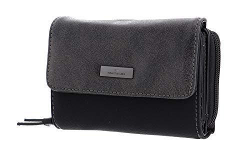 TOM TAILOR bags ELIN Damen Geldbörse one size, black, 14x4x10