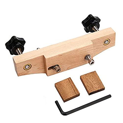 Guitar Bridge Morsetto Riparazione Lithier Sostituire Strumento di Installazione Inserire L'acero Solido in Acciaio Inox Guitar Bridge Installare Morsetto Luitier Strumenti Accessori per Strumenti