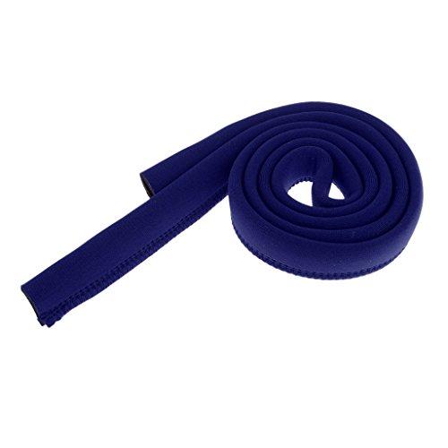 Sharplace Sac D'hydratation Vessie Tube De Boisson Isolé Manchon De Couverture De Tuyau - Bleu foncé, 120cm #5