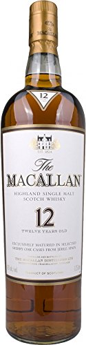 Macallan Sherry Oak 12 Years Old  Whisky (1 x 1.75 l)