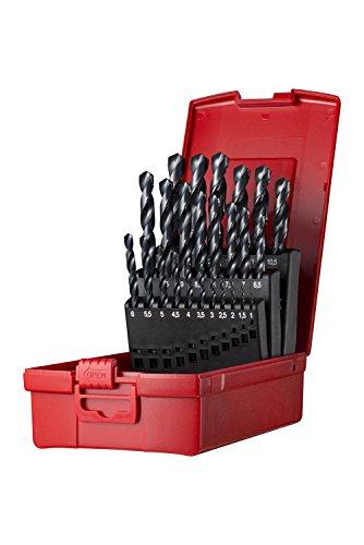 Dormer Pramet A190204 Dormer Jobber Drill Set, Set of 25