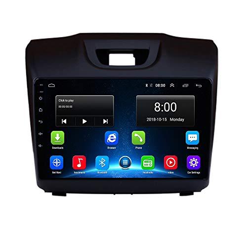 Isuzu Car Radio GPS 2.5D IPS Android 9.1 Navi for Chevrolet Trailblazer Isuzu D-Max S10 Colorado MU-X Car Head Unit Multimedia Player Navigation WiFi