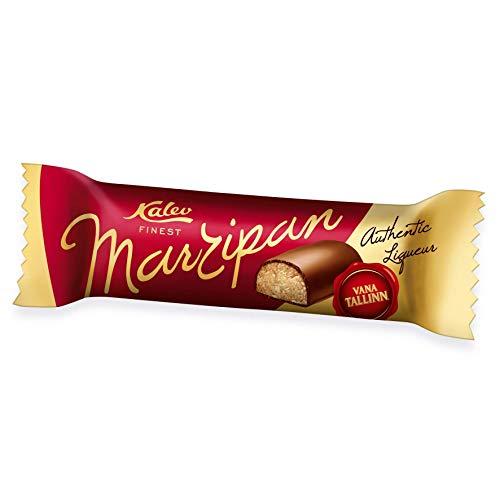 Kalev Finest Marzipan Bar mit Schokolade und Vana Tallinn 3x 40g Stück