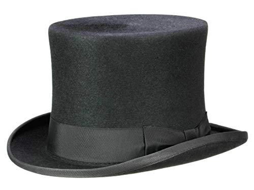 Guerra Homme Haut de forme Top Hat noir