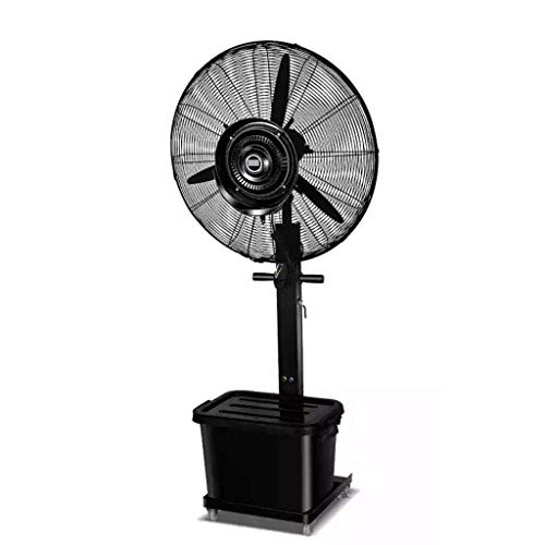NSYNSY Lüfter Hochleistungslüfter Leistungsstarker Hochgeschwindigkeits-Industrieventilator Kühlung Energieeffizient/Beschlagen Oszillierender Standventilator Leise, 42 l / 3-Gang / 175 cm, für g