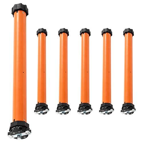 Bulufree Motores tubulares de 6 Piezas, par de Salida 30 NM, Utilizado para la automatización de toldos, Puertas de Garaje, persianas enrollables y parasoles