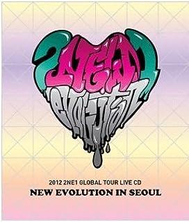 Kpop CD, 2012 2NE1 Global Tour Live: New Evolution in Seoul Concert CD + Booklet + FREE GIFT (Folded Poster + Softbay Mask Pack Sheet)