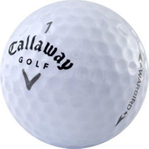 Callaway Warbird AAAAA Like New Recycled Golf Balls, 24-Pack