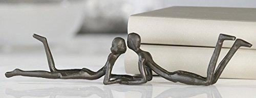 Casablanca - Design Skulptur, Figur - Loving - 30 cm - Eisen