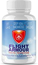 SCIENTIFICALLY FORMULATED Jet Lag Pills (Feel Like You Never Flew) Feet & Leg Swelling + Fatigue   - Business Travel, No-Jet-Lag