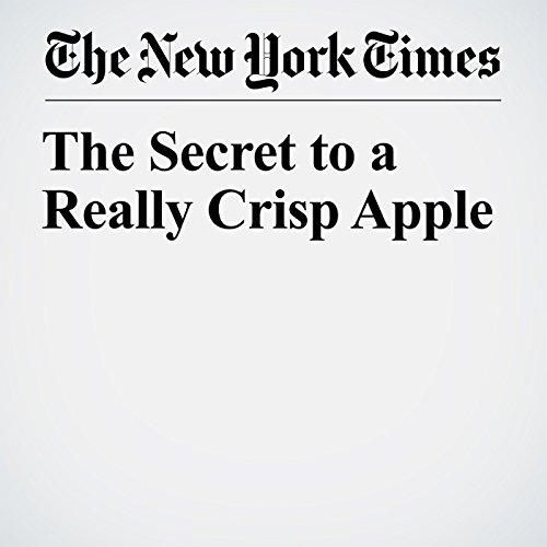 The Secret to a Really Crisp Apple copertina