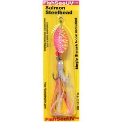 Panther Martin Salmon & Steelhead Hammered Hoochie Skirt Spinning...