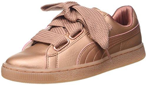 Puma Basket Heart Copper 365463-01, Zapatillas Mujer, Rosa (Pink 365463/01), 39 EU