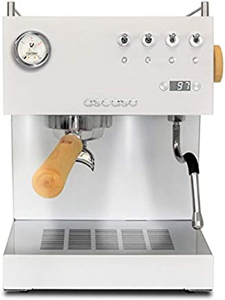 Ascaso Steel Uno Coffee Machine BLACK/WOOD with PID