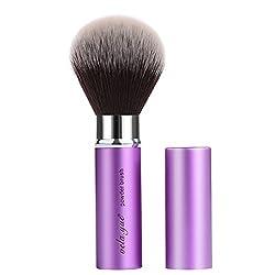 cheap Retractable Facial Kabuki Brush Round Powder Makeup Brush
