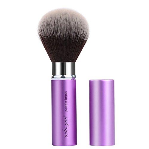 Vela.Yue Retractable Face Kabuki Brush Round Powder Makeup Brushes