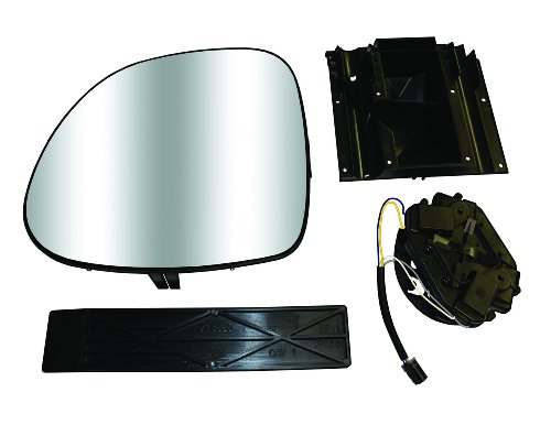 CIPA 70806 Extendable Replacement Electric and Electric Heated Mirror Subassembly Kit - Right Hand Side