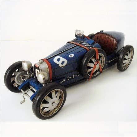 Les Collections Rétro Véhicule métal Bugatti Type 35 1925-1929 (36x13x11,5cm)