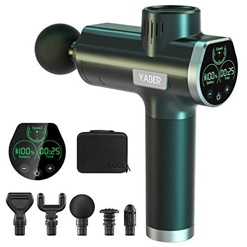 Offerta lampo 52,00 Euro - Pistola massaggiante con display LCD, batteria al Litio ed accessoir