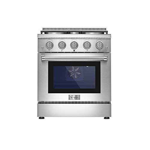 Empava Pro-Style Slide-In Single Oven Gas Range