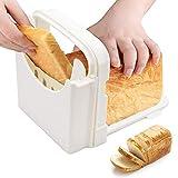 Cortador de pan,Nesloonp cortador de pan plegable, para Pan, Tostadas, Bagel, sándwich, jamón, Queso