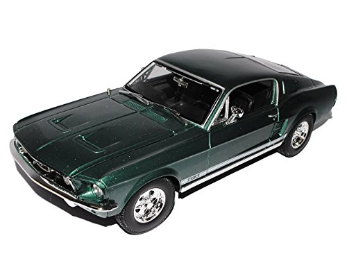 Ford Mustang Fastback Gta Coupe GrÜn 1967 Basis FÜr Shelby Gt500 Eleanor Special Edition 31166 1/18 Maisto Modellauto Modell Auto