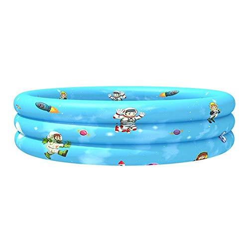HNLSKJ Piscina inflable de 4311 pulgadas para niños, piscina para niños de verano, fuente de fiesta de agua para bebés y niños ggsm (color: espacio, tamaño: 90 cm)