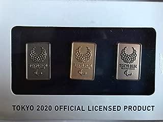 ピンバッジ3個セット(東京2020パラリンピックエンブレム)(ゴールド/シルバー/ブロンズ)