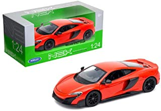 Welly New DIECAST Toys CAR 1:24 W/B - MCLAREN 675LT Coupe (RED) 24089W-RD