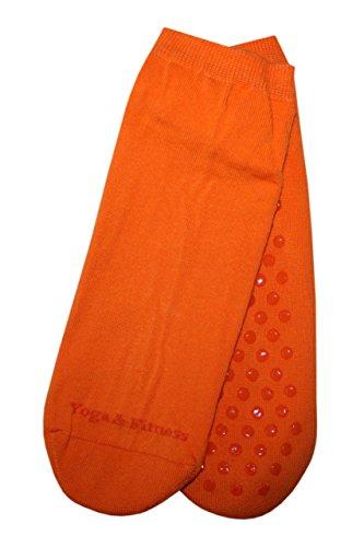 Weri Spezials ABS Yoga Fitness Chaussettes 39-42 Orange