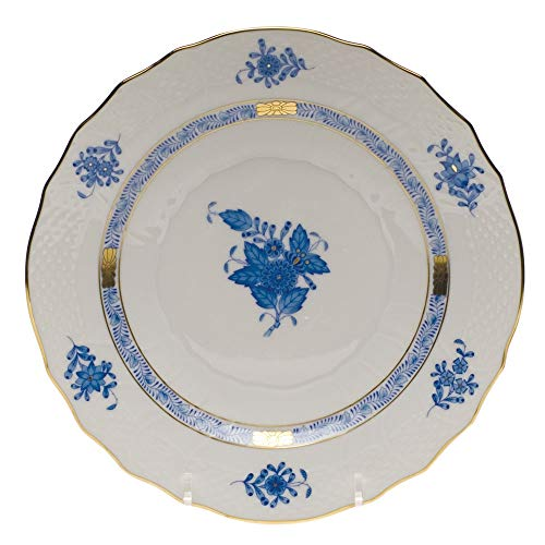 Herend Chinese Bouquet Blue Salad Plate by Herend