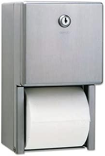 BOB2888 - Bobrick Stainless Steel Two-Roll Tissue Dispenser