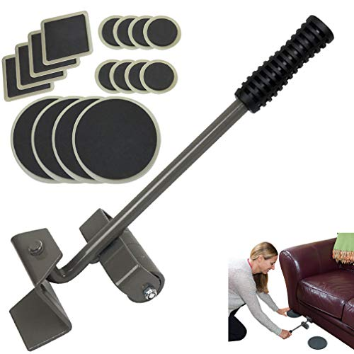 Evelots Furniture Lifter-Heavy Duty-Easy Moving Pads-Sofa/Refrigerator-17 Pieces