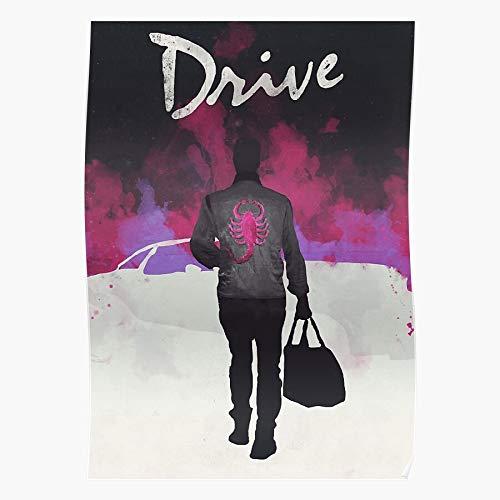Crime Gosling Ryan True Drama Poster Movie Action Drive Geschenk für Wohnkultur Wandkunst drucken Poster 11.7 x 16.5 inch