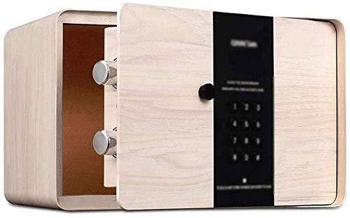 Caja fuerte para el hogar, cajas de bloqueo seguro Caja de seguridad de seguridad digital electrónica, construcción de acero sólido oculto con diseño de bloqueo de pared de cerrojo de cerrojo para la