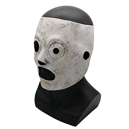 lembrd Corey Slipknot Maske Cosplay Kostüm Deluxe Latex Metall Band Verrücktes Kleid Merchandise für Herren Halloween Kleidung Zubehör