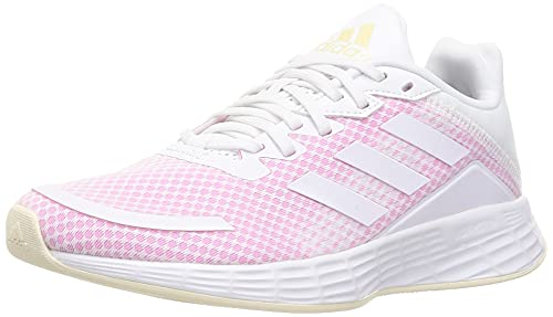 adidas Duramo SL, Zapatillas de Running Mujer, FTWBLA/FTWBLA/ROSCHI, 40 2/3 EU