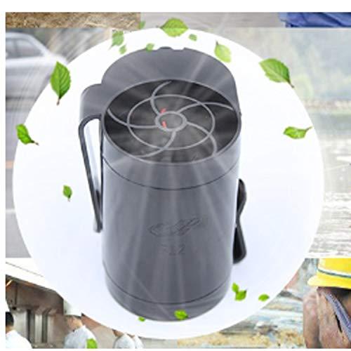 HEQIE-YONGP Mini Ventilador de Escritorio portátil Ventilador Cintura Colgante Ventilador Exterior Carga USB Ventilador pequeño Portátil Mini Batería de Litio de Viento Grande Ventiladores personales