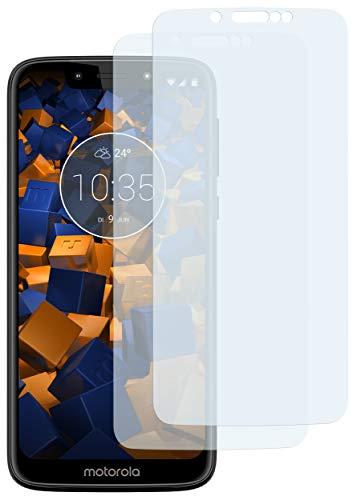 mumbi Schutzfolie kompatibel mit Motorola Moto G7 Play Folie klar, Bildschirmschutzfolie (2X)