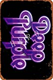 GenericBrands Deep Purple Jahrgang Blechschild Kunst