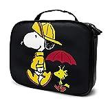 Snoopy Travel Maquillaje Bolsa Portátil Viaje Maquillaje Or