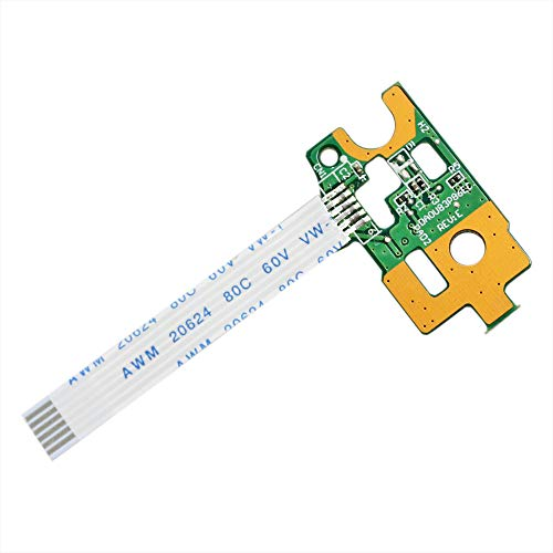 Deal4GO Replacement ON Off Power Switch Button Board w//Ribbon Cable for HP Pavilion 15-N 14-N 15-F N211DX DA0U83PB6E0 732076-001
